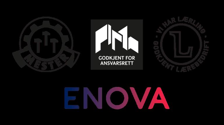 Godkjent for ansvarsrett - Enova
